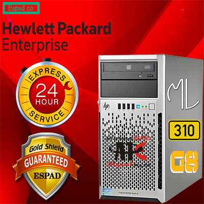 سرور HP PROLIANT SERVER ML310E G8 V2 E3-1220 V3